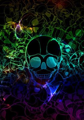 Skull Plp Mobile Wallpaper