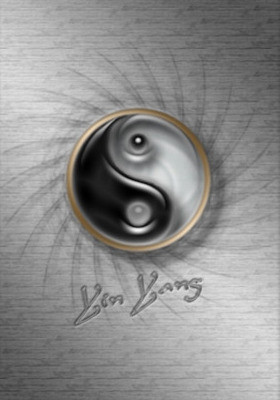 Yin Yang Mobile Wallpaper