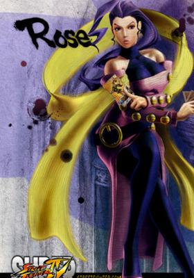 Rose Street Fighter Mobile Wallpaper