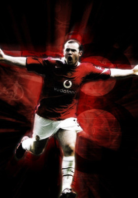 Wayne Rooney Li Mobile Wallpaper