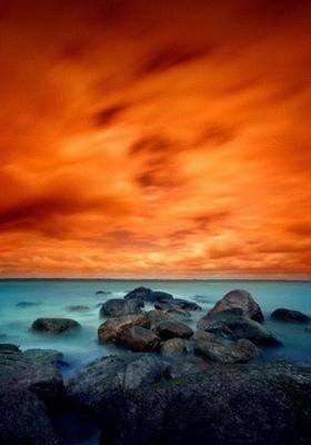 Red Skies Mobile Wallpaper