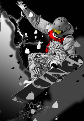 Snow Boarder Mobile Wallpaper