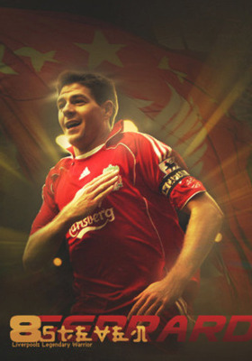 Steven Gerrard Mobile Wallpaper