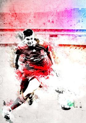 Steven Gerrard Mobile Wallpaper
