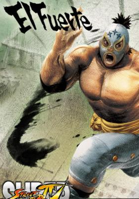 Elfuerte Street Fighter Mobile Wallpaper