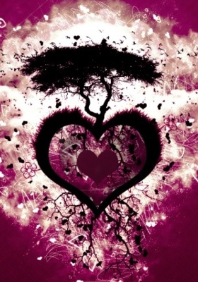 Heart Tree Mobile Wallpaper