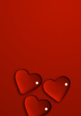 Valentines Hearts Mobile Wallpaper