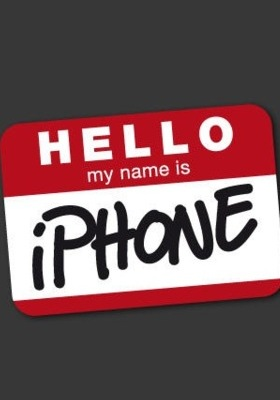 Hello My Name Is Iphone Mobile Wallpaper
