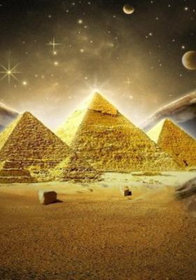 Golden Piramid Mobile Wallpaper