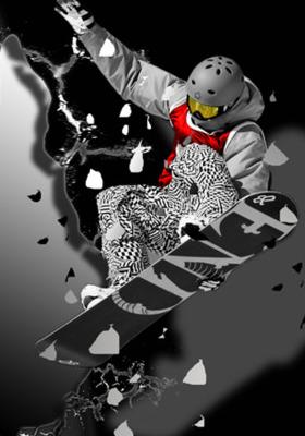 Snowboarder Mobile Wallpaper