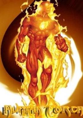 Human Torch Mobile Wallpaper