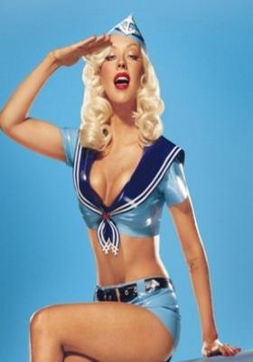 Navy Girl  Mobile Wallpaper