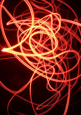 Light Wave IPhone Mobile Wallpaper
