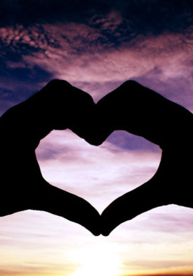 Heart Hand Mobile Wallpaper