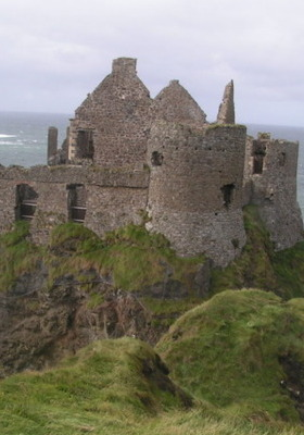 Dunluce Castle Ireland Mobile Wallpaper
