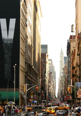 New York Street  Mobile Wallpaper