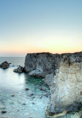 Ocean Cliffs  Mobile Wallpaper