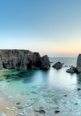 Paradise Beach Bay Mobile Wallpaper