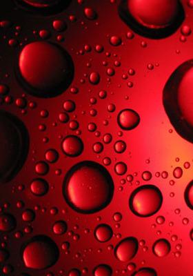 Red Bubbles Mobile Wallpaper
