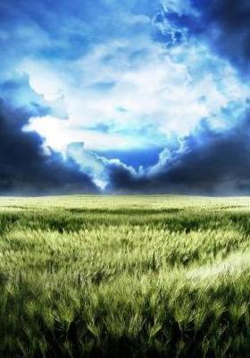 Blue Storm Mobile Wallpaper