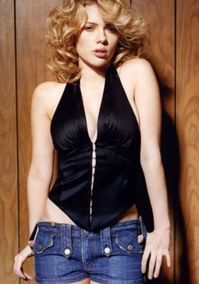 Scarlett Johansson Wallpaper Mobile Wallpaper