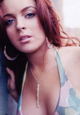 Lindsay Lohan Mobile Wallpaper