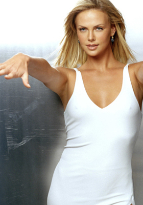 Sweet Hot Charlize Theron Wallpaper Mobile Wallpaper