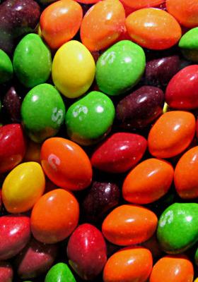 Skittles Candy Mobile Wallpaper