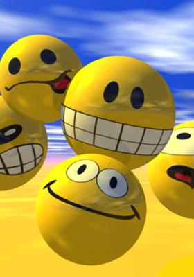 Smiley Faces Mobile Wallpaper