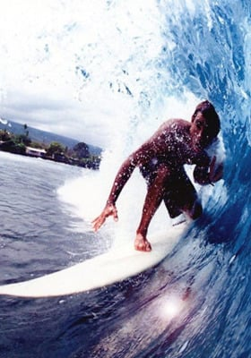 Surfing Mobile Wallpaper
