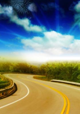 Road Sky Mobile Wallpaper