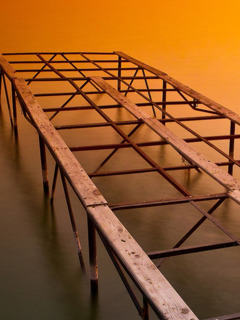 Building A Dock Mobile Wallpaper