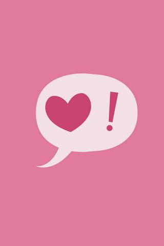 Love Pink Mobile Wallpaper