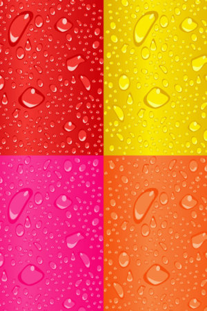 Abstract Dew Drops IPhone Wallpaper Mobile Wallpaper