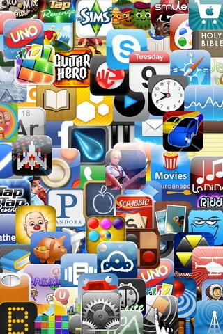 Million Apps IPhone Wallpaper Mobile Wallpaper