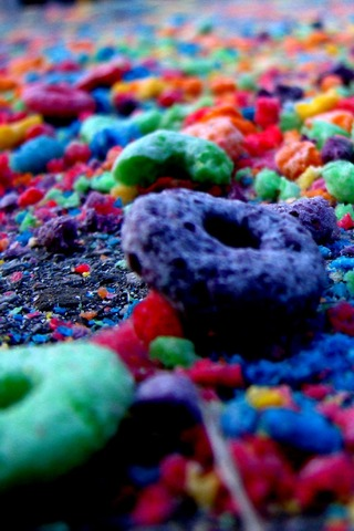 Colors Sweets Cheerios IPhone Wallpaper Mobile Wallpaper