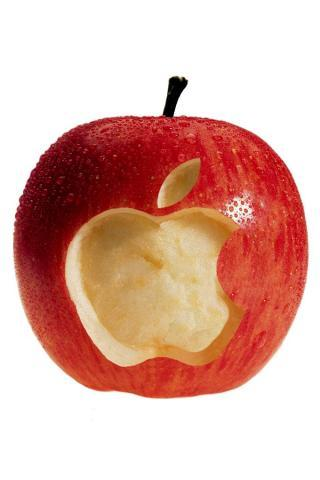 Juicy Apple IPhone Wallpaper Mobile Wallpaper