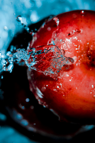 Fresh Splash Apple IPhone Wallpaper Mobile Wallpaper