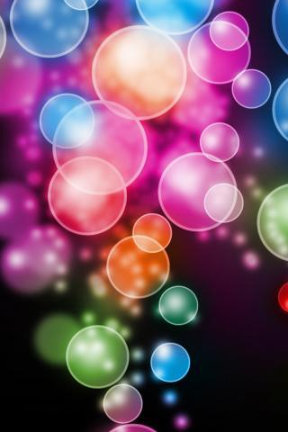 Bokeh Bubbles IPhone Wallpaper Mobile Wallpaper