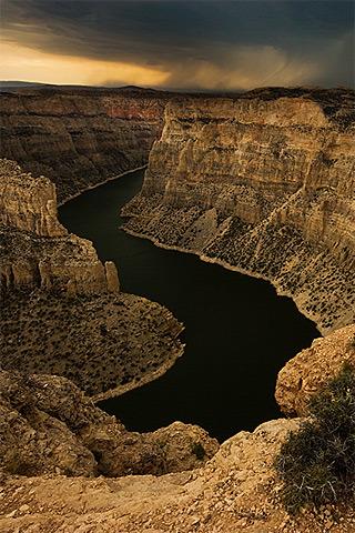 Canyon River Nature IPhone Wallpaper Mobile Wallpaper