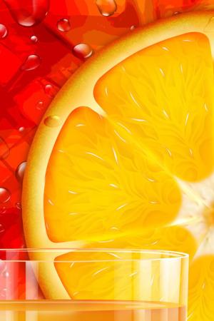 Orange Slice Nature IPhone Wallpaper Mobile Wallpaper