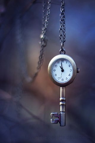 3D Key Clock IPhone Wallpaper Mobile Wallpaper