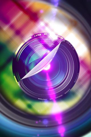 Cam Colors Lens IPhone Wallpaper Mobile Wallpaper
