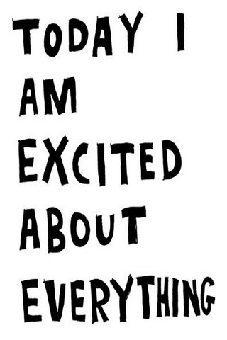Today Am Excited IPhone Wallpaper Mobile Wallpaper