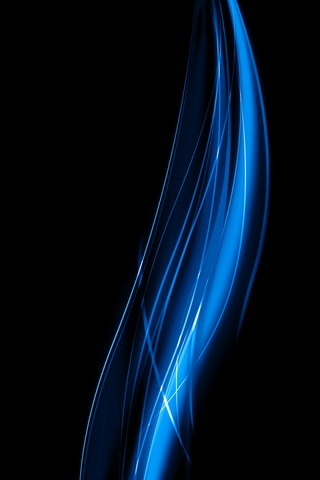 Blue 3D Line IPhone Wallpaper Mobile Wallpaper