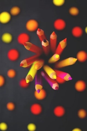 Colors Pens IPhone Wallpaper Mobile Wallpaper