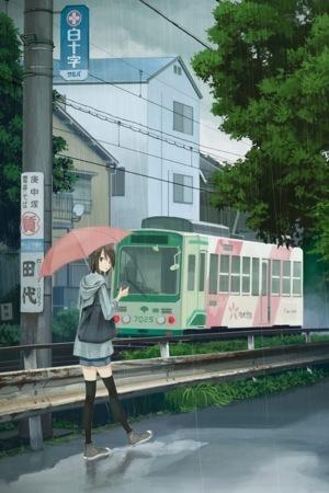 Anime Umbrella Girl IPhone Wallpaper Mobile Wallpaper