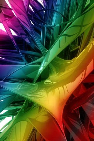 Color Explosion IPhone Wallpaper Mobile Wallpaper