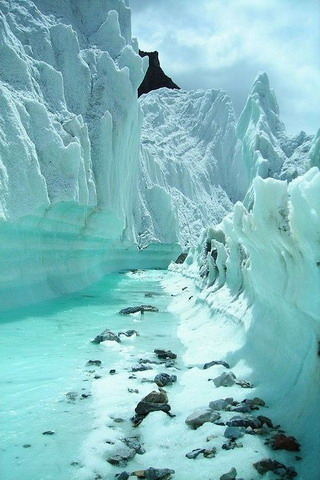 White Snow Karakoram Range Of Mountains IPhone Wallpaper Mobile Wallpaper