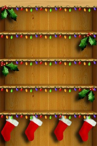 Christmas Lights IPhone Wallpaper Mobile Wallpaper